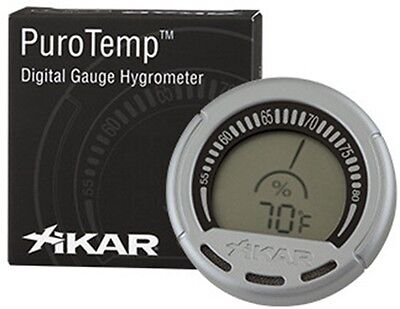XIKAR PuroTemp™ Digital Gauge Hygrometer For Humidor - 834XI