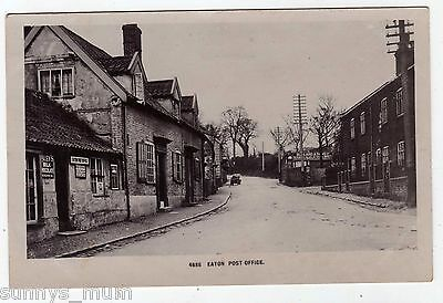 Norfolk, Norwich, Eaton, The Post Office And Street Scene, 1909, Rp