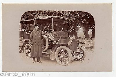 Transport, Vintage Car No. Cr.349? And Driver, Rp
