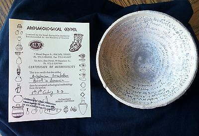 Babylonian Incantation Bowl - NO RESERVE - Authenticated - Price Reduced