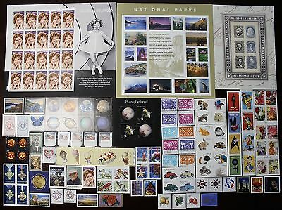 2016 Us Stamp Year Set, Commemoratives, High Values, Coils, Booklets & Sheets.