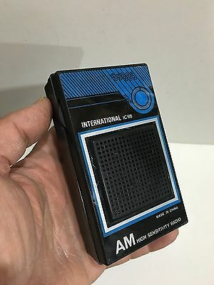 Vintage International Pocket Radio  Am(Mw)- Band From The 1960S
