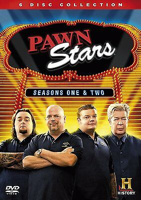PAWN STARS Seasons 1 & 2 NEW & SEALED - 6 DVD COLLECTION