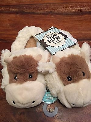 Cozy Heads Heatable Warm Me In A Microwave Slippers,Intelex Group 5-7y