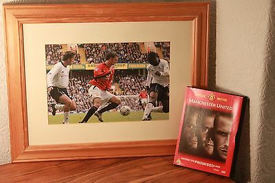 Manchester United Framed Picture - MUFC Ruud Van Nistelrooy 2001 Licenced Athena