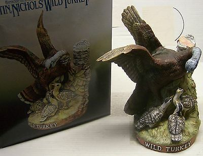 #6 Wild Turkey & Poults Decanter by Wild Turkey Whiskey in 1984 with box