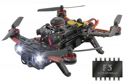 FPV Racing-Quadrocopter Runner 250 Advance F3 RTF - FPV-Drohne mit HD Kamera