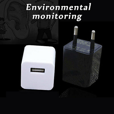 Voice Activated Hidden Wall Charger GSM GPRS Tracker Ear Bug Listening Device NN