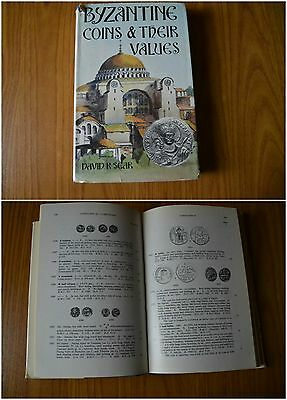 Libro Byzantine Coins & Their Values Seaby David Sear London 1974 Monete