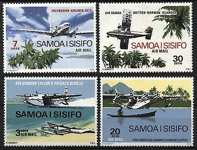 [AR025]  Samoa 1970 Airplanes Air Mail Issue MNH