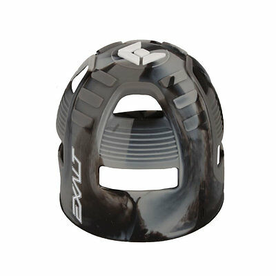 Exalt Tank Grip - Fits All HPA Tanks - Charcoal Swirl - Paintball