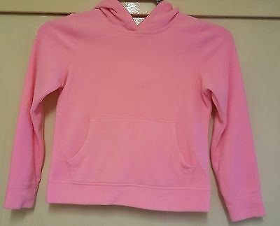 George long sleeved pink hoodie – Age 8-9