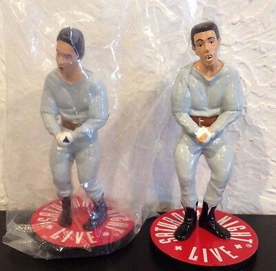 "Hans & Franz Figures From Saturday Night Live, 1991, 4"" Tall"