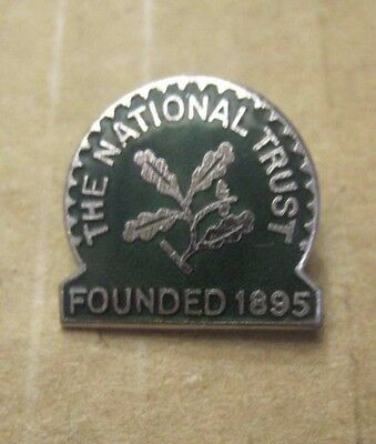 The National Trust Enamel Badge Founded 1895