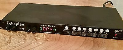 Gibson Echoplex Digital Pro Plus rack delay looper processor