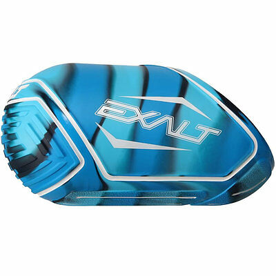 Exalt Tank Cover - Medium Fits 68/70/72ci - Blue Swirl - Paintball