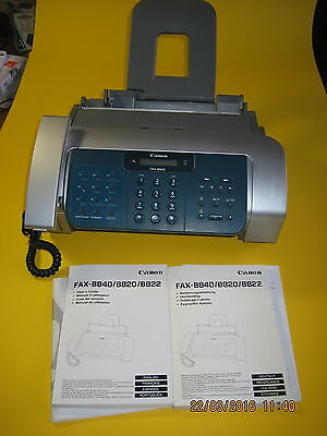 FAX-B840 CANON ink jet