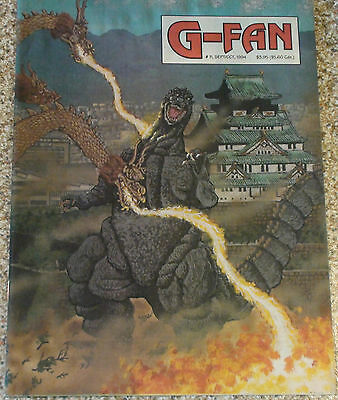 Godzilla G-Fan Magazines #11 - 79 (Daikaiju Enterprises)