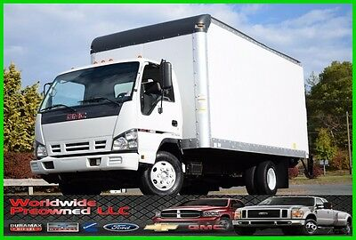 2007 GMC W4500 Tilt Cab Cab Over Box Truck 5.2L Mitsubishi Diesel Used Chevy
