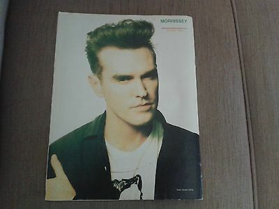 Morrissey Smash Hits Pinup Poster The Smiths Great & Exclusive Photo  1988, June