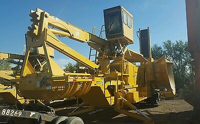 Vermeer Wood Tub Grinder Chipper Brush Removal  Obo Nice Rebuilt Machine