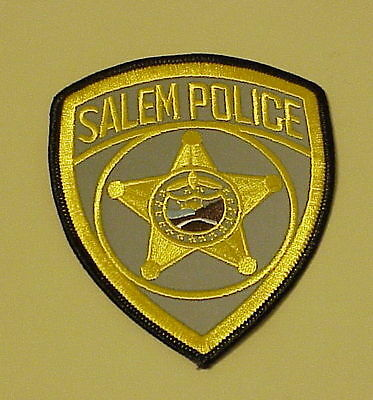 Salem  Oregon  Or  Police Patch   Free Shipping!!!