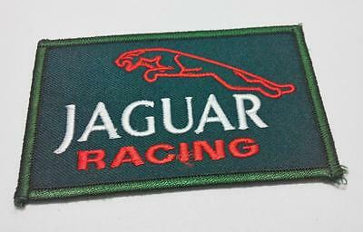 Embroidered Jaguar Racing Iron On Patch (A941)