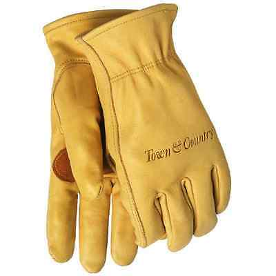 Town & Country Medium Superior Leather Lined Gardening Gloves for Ladies - NEW