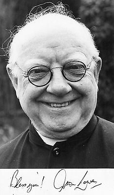 Authentic Arthur Lowe Signed Official Promo Photo...dads Army....bless Me Father