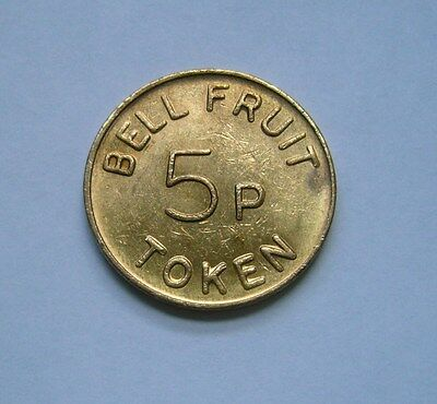 Bell fruit 5 p Token / Jeton
