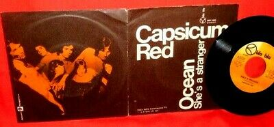 CAPSICUM RED Ocean 45rpm 7' + PS OST 1971 ITALY PROG MINT Red Canzian I Pooh