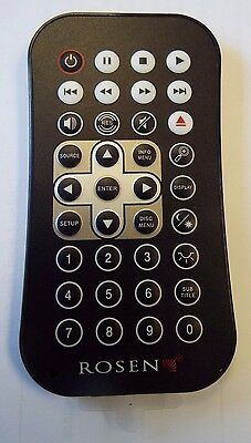 Rosen Wireless Remote Control AP1043 AV7500/7800/7900/X10/Z10/Z8 Car DVD New @A6
