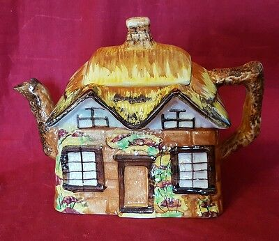 """Price Kensington COTTAGE WARE Teapot w/ Lid '""""Ye Olde Cottage"""" Made in England"""
