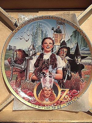50 Years of Oz Commemorative Anniversary Plate Wizard Of Oz Hamilton Collection