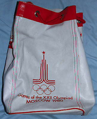Moscow 1980 Olympic Games Adidas Back Pack