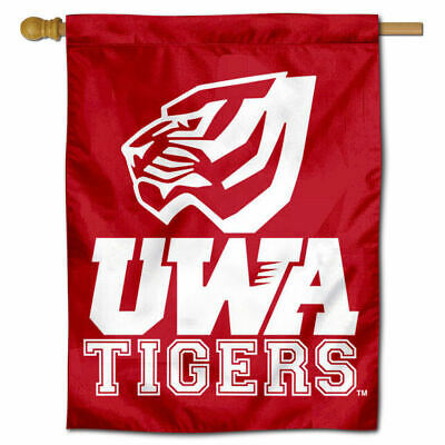 West Alabama Tigers Two Sided House Flag