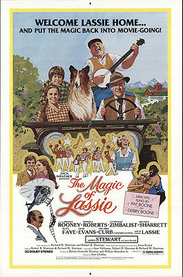 The Magic of Lassie 1978 Original Movie Poster Drama Family Musical