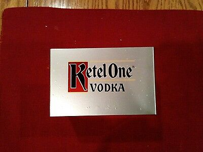 Ketel one vodka metal napkin holder