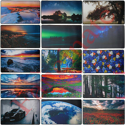 Extra Large Anti-Slip Rubber Extended Gaming Mouse Pad Keyboard Desk Mat 60x30cm