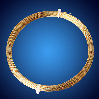 Gold 20m Car Windscreen Window Glass Cutting Out Braided Removal Wire Steel tool