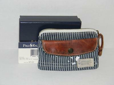 Ralph Lauren Polo Nautical Media Wallet Nwt With Gift Box Fast Shipping Htf