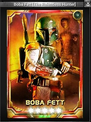 Star Wars Force Collection 5* Boba Fett The Relentless Hunter TRH 4/7 - guide