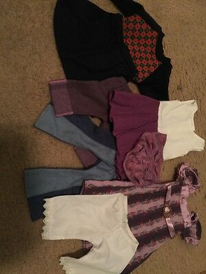 American Girl Doll Clothes Lot Variety