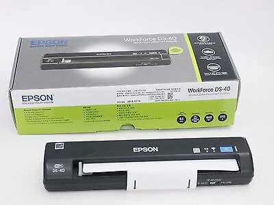 Epson WorkForce DS40  Portable USB/Wi-Fi Scanner