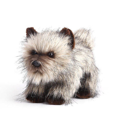 """Cairn Terrier Dog Soft plush toy 12""""/30cm stuffed animal by Nat and Jules NEW"""
