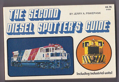 The Second Diesel Spotter's Guide, 1973 by Jerry Pinkepank, Kalmbach Train Book