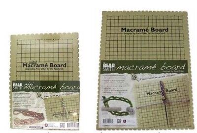 Macrame Boards - Small or Large Available - Makes Macrame Easy! BEADS & TOOLS