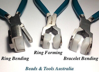 Beadsmith Nylon Jaw Pliers - Ring Forming Pliers - Bracelet Bending Pliers