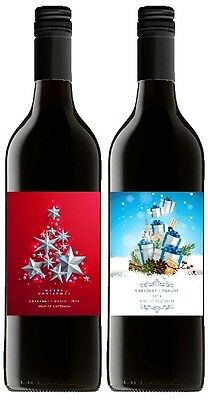 Say it with Wine Mixed Christmas Red Wine 2 pack