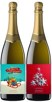 Say it with Wine Mixed Christmas Sparkling Wine 2 Pack